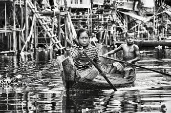 Plávajúca dedina