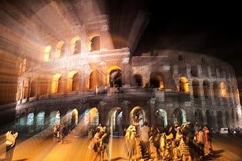 Noční život u Kolosea