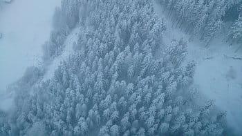 Zima z výšky
