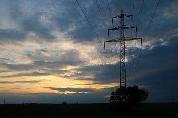 Elektrický západ slunce