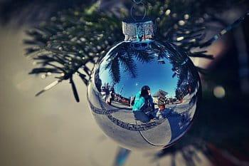 vánoční autoportrét
