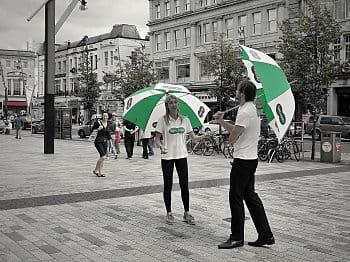 Rozhovory pod deštníkem