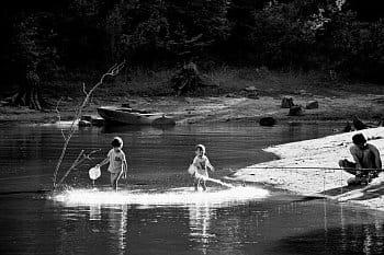 Táta na rybách