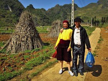 Severovietnamští vesničané