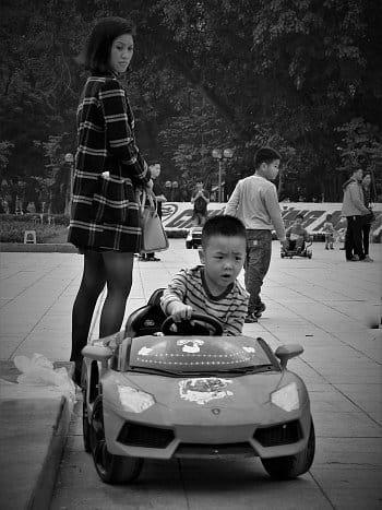 Budoucí vietnamský závodník