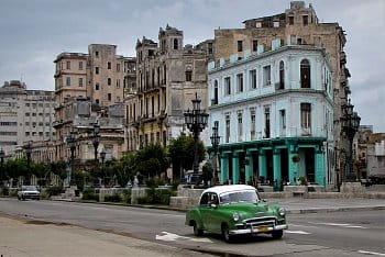 americký veterán v Havaně