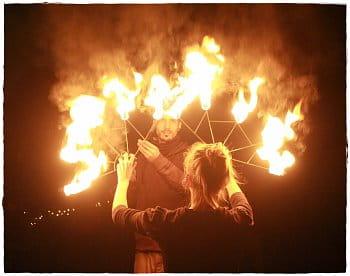 Fireshow na Štvanici