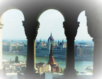 Budapešť v oparu