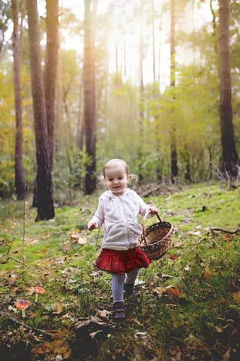 Karkulka v lese