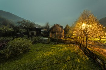 Mlhavý večer