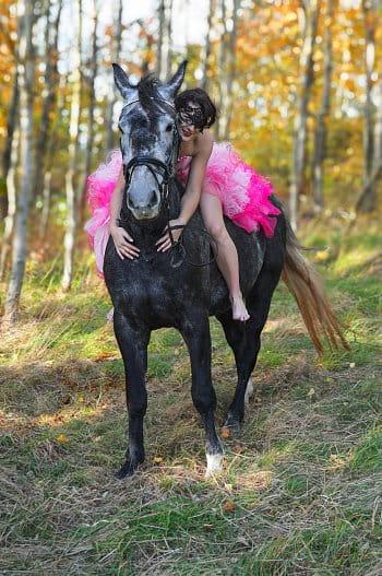 Princezna na koni