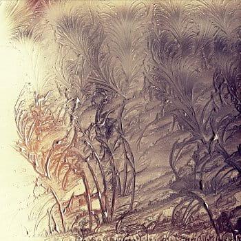 Mráz maluje na okno našeho domu ... (3)
