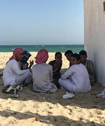Děti v Ománu