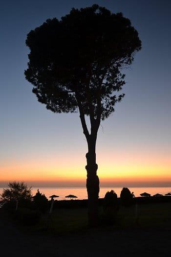 Východ slunce na Rodosu