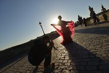 Praha po ránu