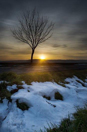Poslední zbytky zimy