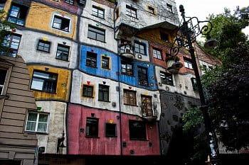 Střípek z Vídně - Hundertwasserhaus