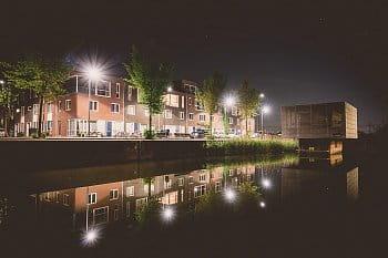 Večer v Amsterdame