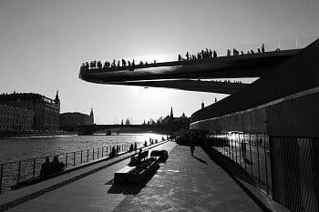 Vznášející se most, Moskva