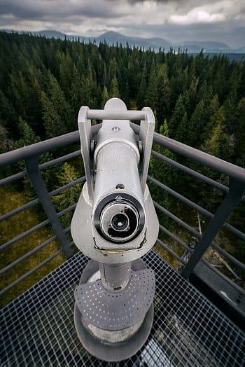 Výhled na vrchol