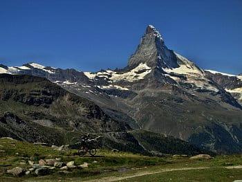 Na kole až na Matterhorn