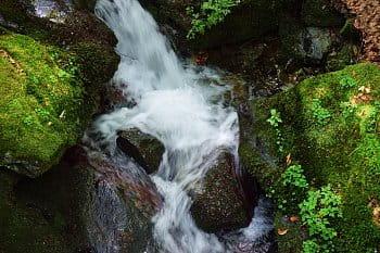 U Stříbrného potoka