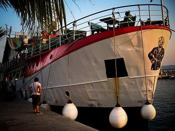 Na lodi v Chorvatsku