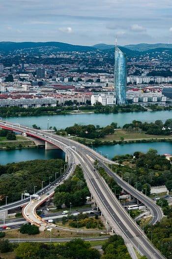 Výhled na Vídeň