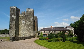 Věžový hrad Barryscourt - Irsko