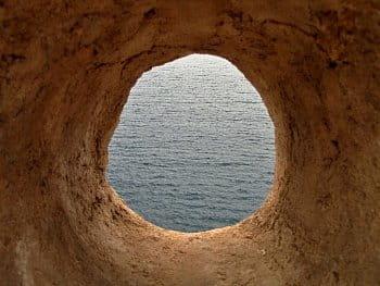 Průhled do moře