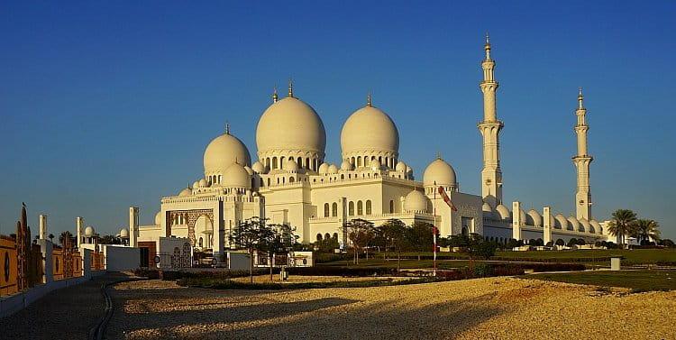 SHEIKH ZAYED GRAND MOSQUE, ABÚ DHABÍ