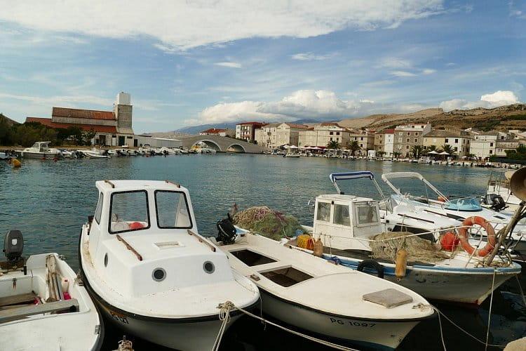 v Chorvatsku u moře