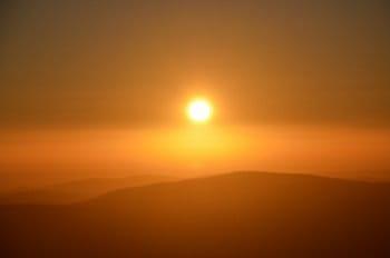 Krajina zalitá sluncem
