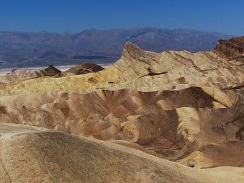 Údolí smrti - Zabriskie Point USA