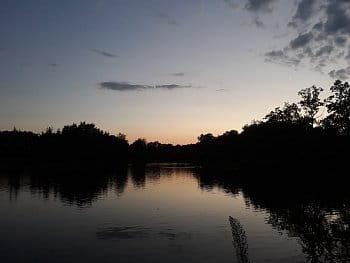 Večerní rybník