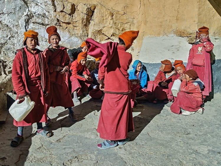 Mníšci z Phuktal gompy