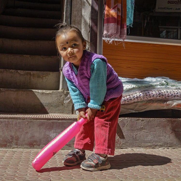 Malá baseballgirl - Leh