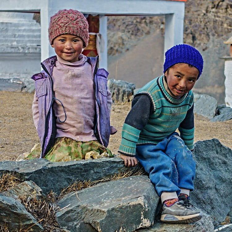 Děti z vesnice Testa - Zanskar