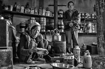 V ladakhské rodině