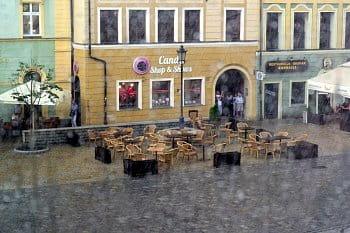 Deštivo ve Wroclavi
