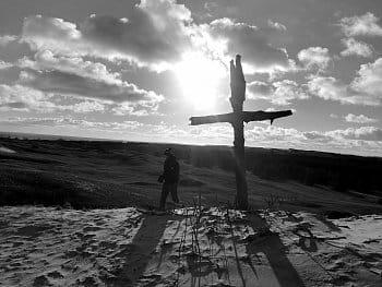 Kříž v poušti