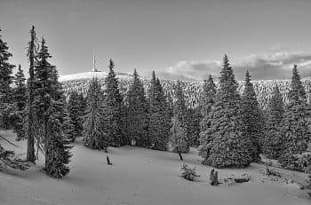 Praděd v zimě