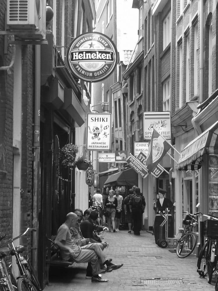 Amsterdamská zákoutí