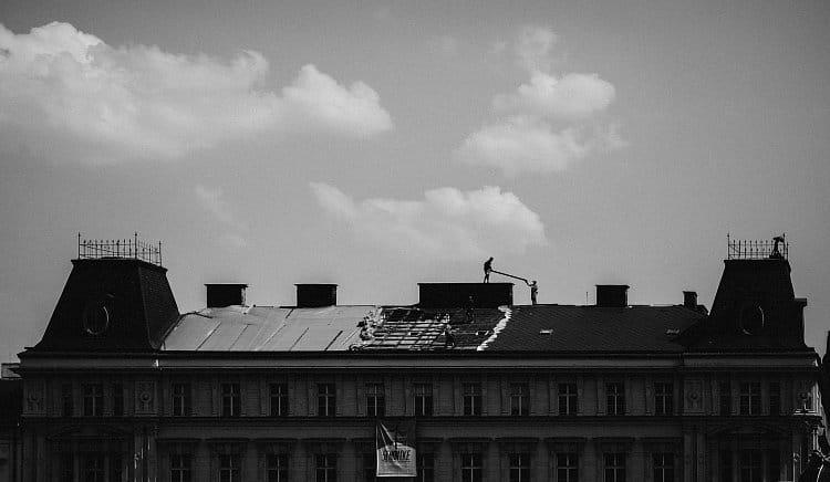 Hoši na střeše