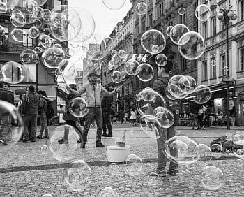 bublinový svět