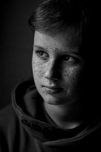 Portrét kluka