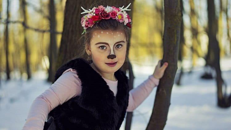 My daughter as Bambi