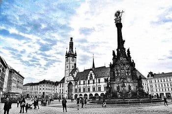 Olomoucké Horní náměstí..