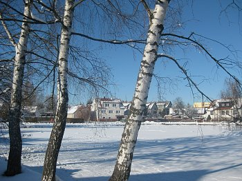 Zamrzlý rybník Pátek
