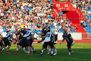 Czech Bowl 2018 Ostrava. Steelers Ostrava versus Prague Black Panters